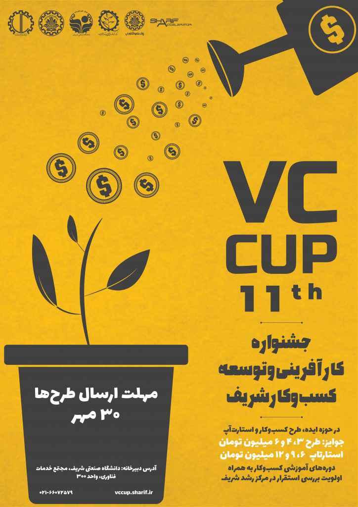 یازدهمین جشنواره کارآفرینی و توسعه کسب و کار شریف (وی سی کاپ)