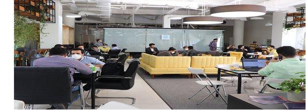 لوگوی برگزاری بیش از ۲۱۰ جلسه سرمایهگذاری در اولین و دومین روز از کافه سرمایه کارن کراد