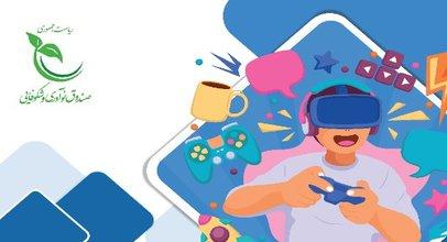 لوگوی رویداد جذب سرمایه ۶ استارت آپ حوزه بازی و سرگرمی