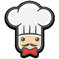 لوگوی سرآشپز پاپیون