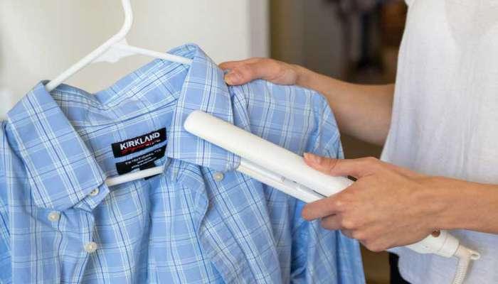 ۶ راه برای اتو کردن لباس بدون استفاده از اتو
