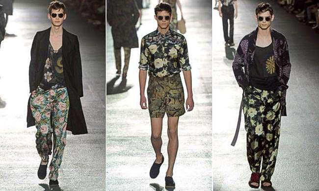 طراحی لباس با الهام از گلهای طبیعی در صنعت فشن