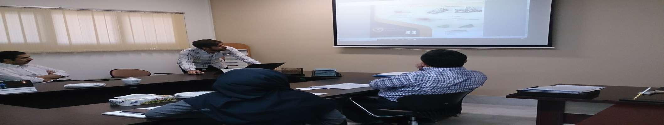 ارزیابی طرح های نوآوری در جلسه شورای نوآوری پارک علم و فناوری خراسان