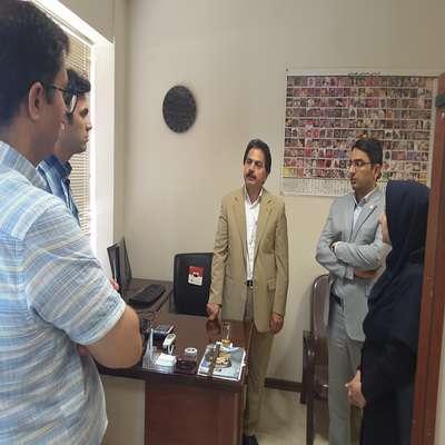 بازدید مدیران مراکز رشد پارک علم و فناوری خراسان شمالی از مرکز رشد فناوری نیشابور