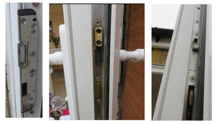 تعمیر و تعویض قفل درب upvc