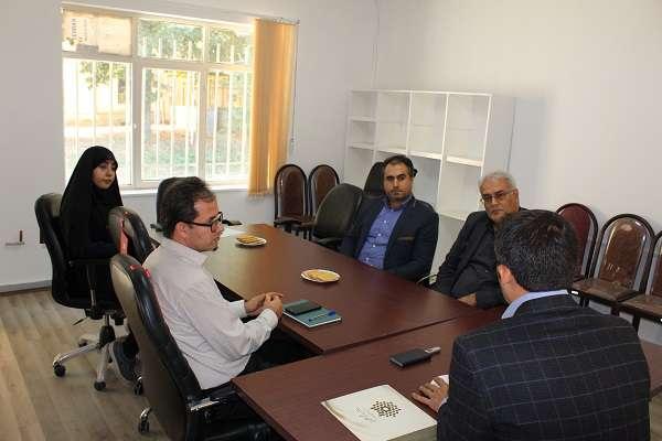 برگزاری نشست هم اندیشی سرپرست پارک علم و فناوری آذربایجان غربی با مسئول نمایندگی بنیاد برکت در استان