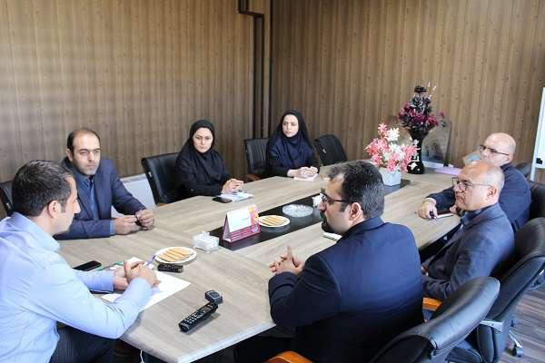 جلسه بررسی  زمینه های همکاری مشترک پارک علم و فناوری آذربایجان غربی و دانشگاه صنعتی ارومیه برگزار شد