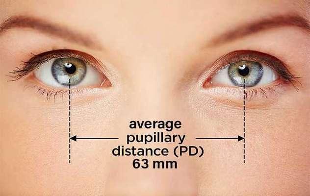 فاصله بین دو مردمک چشم را چگونه اندازه بگیریم؟