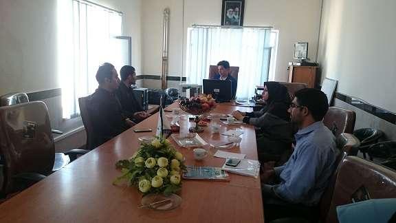 بیست و یکمین جلسه شورای فناوری مرکز رشد واحد های فناور شهرستان دلفان