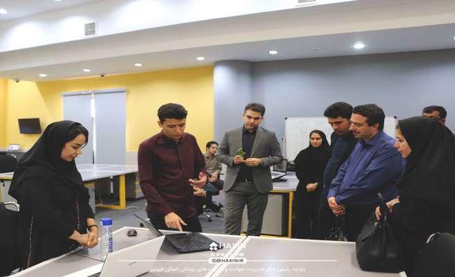 بازدید رئیس مرکز فوریت های پزشکی استان قزوین از شتابدهنده هکسین