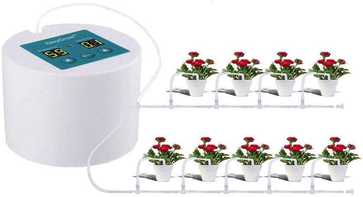 دستگاه آبیاری اتومایتک گلدان، مدل ایزی گرو Easy grow irrigation system