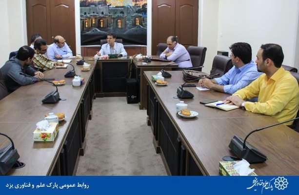 گزارش تصویری بازدید جمعی از کارشناسان شرکت گاز از پارک علم و فناوری یزد