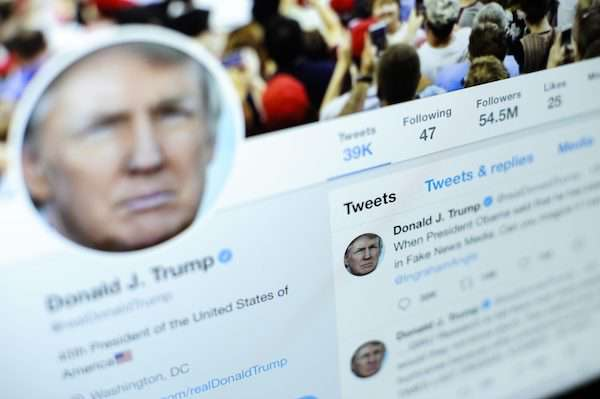 دونالد ترامپ به توییچ پیوست