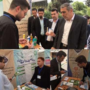 با حضور واحد های فناور پارک علم و فناوری کرمانشاه؛ نمایشگاه مدیریت سبز در سازمان برنامه و بودجه کشور افتتاح شد