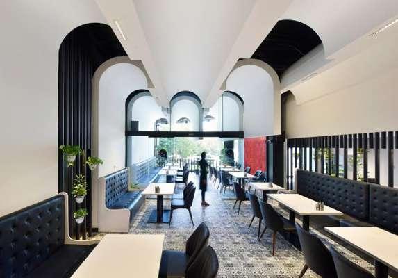 رستوران لمنز چیذر ، یک طراحی با شکوه در عین حال دنج و ساده!