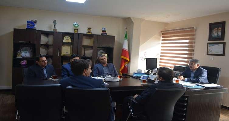 نشست معاون پژوهش و فناوری دانشگاه پیام نور استان با رییس پارک علم و فناوری خوزستان برگزار شد