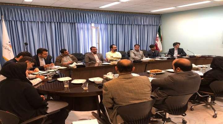 برگزاری جلسه مدیران مراکز نوآوری استان و پارک خراسان درخصوص اکوسیستم نوآوری