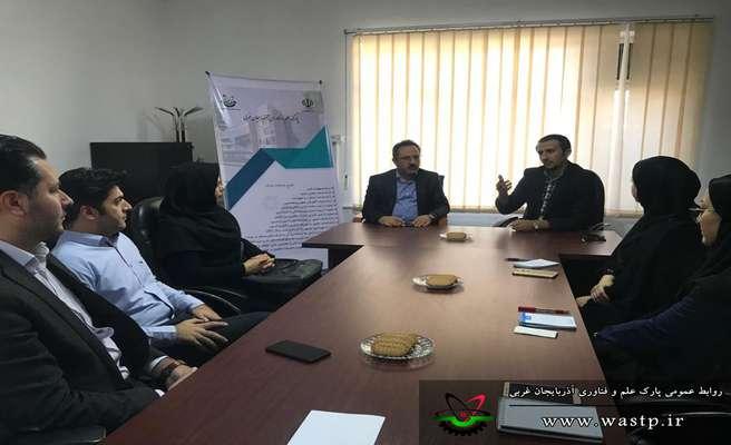 جلسه بررسی زمینه های همکاری مشترک پارک علم و فناوری آذربایجان غربی و اداره کل ارتباطات و فناوری اطلاعات برگزار شد