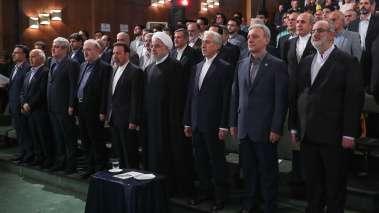 مراسم آغاز سال تحصیلی دانشگاهها و مراکز آموزش عالی کشور در دانشگاه تهران آغاز شد