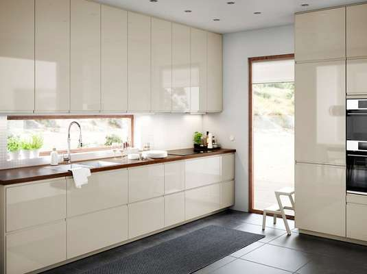 کابینت های گلاس ، یک انتخاب براق برای آشپزخانه شما!