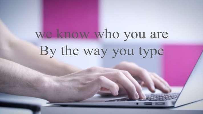استارتاپی که از نحوهی تایپ کردنتان شما را شناسایی میکند