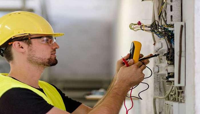 خدمات سیم کشی ساختمان