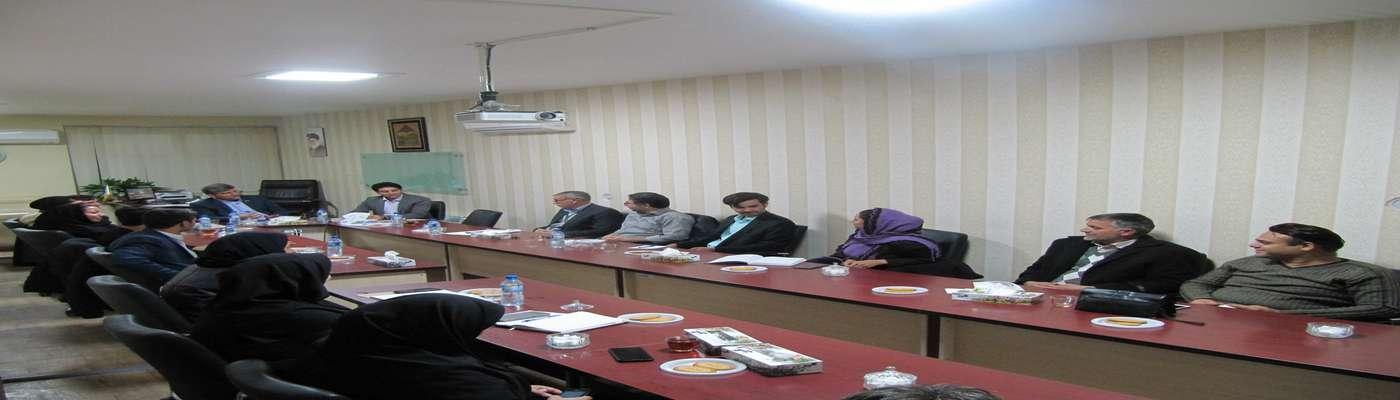 برگزاری جلسه انتقال تجربه با حضور مدیرعامل شرکت شانه عقیق گناباد