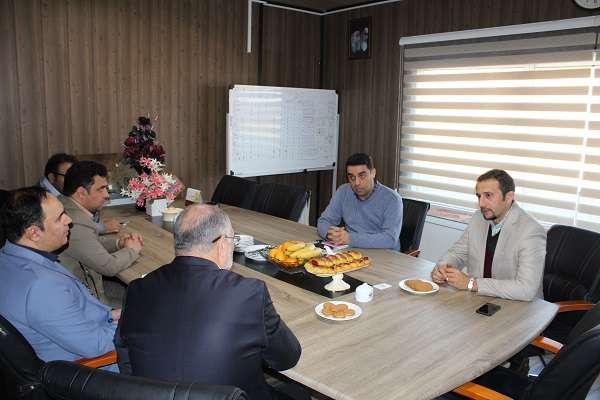 جلسه بررسی افزایش زمینه های همکاری مشترک پارک علم و فناوری آذربایجان غربی و  سازمان صنعت، معدن و تجارت  برگزار شد