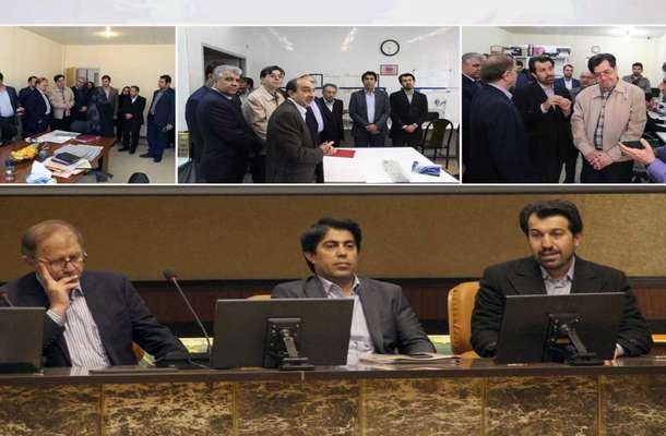 بازدید معاون آموزش، پژوهش و فناوری وزارت صمت از پارک علم و فناوری فارس