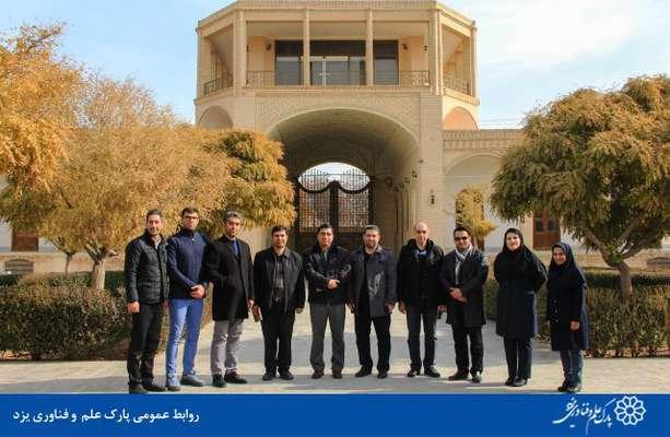 گزارش تصویری نشست و بازدید مدیرکل ارتباطات و امور بینالملل پارک فناوری پردیس و تیم همراه از پارک علم و فناوری یزد