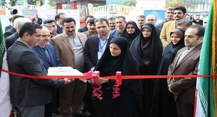 افتتاح بیستمین نمایشگاه پژوهش و فن آوری استان گیلان