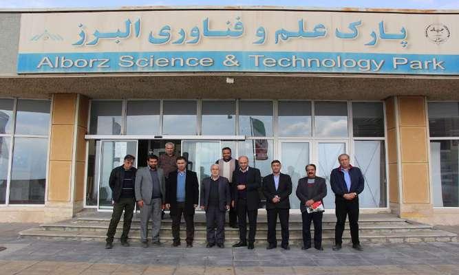 بازدید اعضای هیات مدیره و مدیران شرکت عمران شهر جدید هشتگرد از پارک علم و فناوری البرز