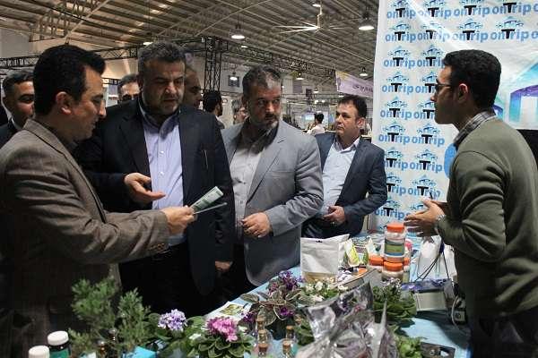 در بیستمین نمایشگاه دستاوردهای پژوهش، فناوری و فن بازار استان مازندران رخ داد؛ بازدید استاندار مازندران از غرفه دانشگاه