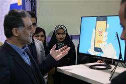 بازدید دکتر سرائیان دبیرکل سازمان نصر کشور از بیستمین نمایشگاه دستاوردهای پژوهش و فناوری و پنجمین فن بازار استان مازندران