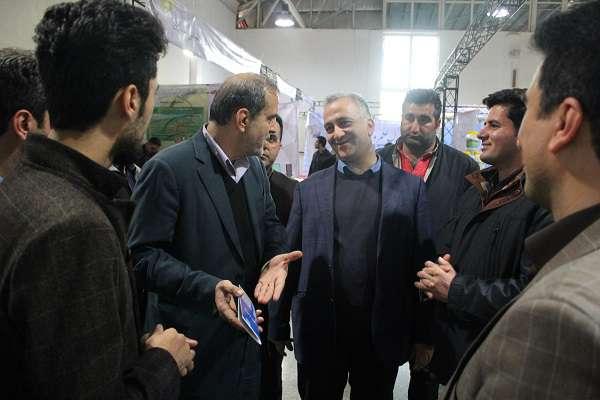 در بیستمین نمایشگاه دستاوردهای پژوهش، فناوری و فن بازار استان مازندران رخ داد؛ بازدید مسئولین استانی از غرفه دانشگاه