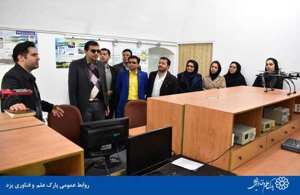 گزارش تصویری بازدید جمعی از کارمندان شرکت توزیع نیروی برق استان از پارک علم و فناوری یزد
