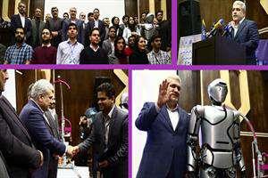 «سورنا۴» رونمایی شد/ ستاری: رباتیک اجتماعی در کشور خطشکنی کرد
