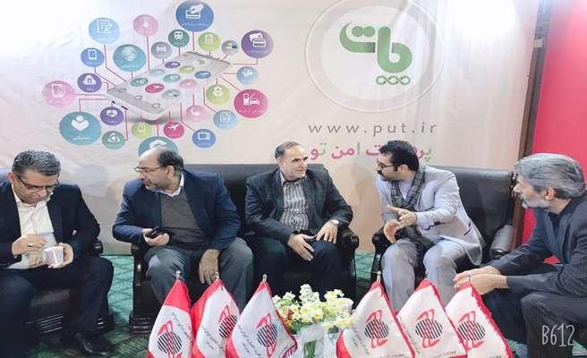 مسئولین از غرفه ایران کیش در الکامپ قم بازدید کردند