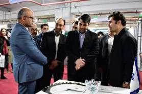 بازدید استاندار یزد از غرفه صندوق پژوهش و فناوری استان یزد