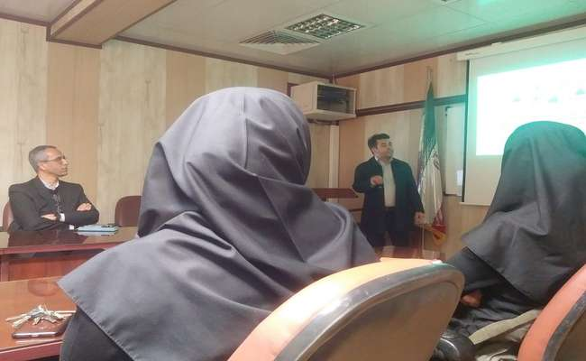 سخنرانی علمی ماهیانه در دانشکده بهداشت برگزار شد.