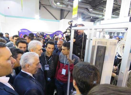 در بیستمین نمایشگاه دستاوردهای پژوهش، فناوری و پنجمین فنبازار کشور صورت گرفت؛ رونمایی از محصول فناورانه ستاپ کاتاتست