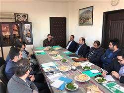 نشست شرکت های دانش بنیان  با رییس سازمان پسماند شهرداری آمل