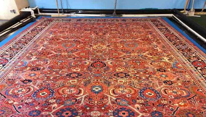 ترفندهای شستن فرش دستباف در منزل