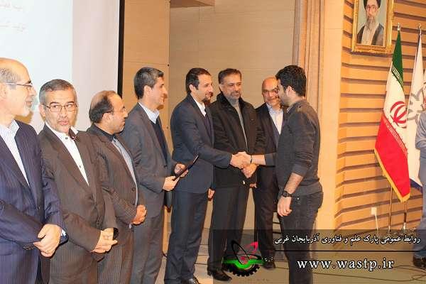 کسب عنوان فناوران برگزیده استان توسط شرکت های مستقر در پارک علم و فناوری آذربایجان غربی