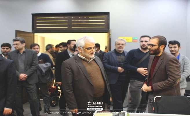 بازدید دکتر طهرانچی از شتابدهنده هکسین
