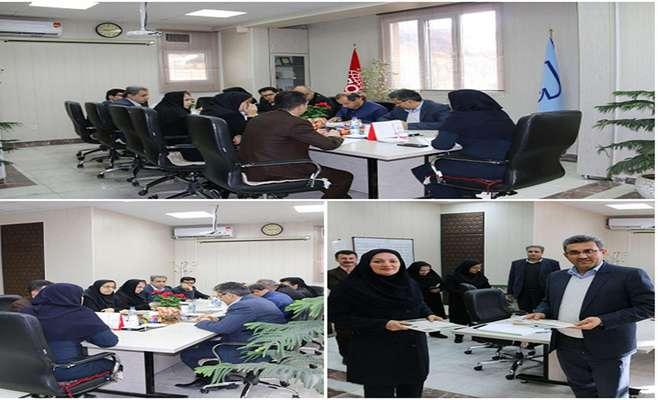 تجدید تفاهم نامه استاندارد و پارک علم و فناری کردستان