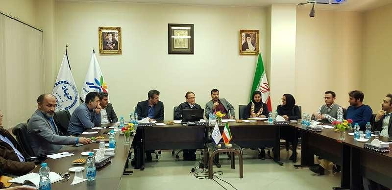 برگزاری دوره آموزشی و مشاوره ای پیش از  جلسه کمیته جذب و پذیرش در پارک علم و فناوری البرز