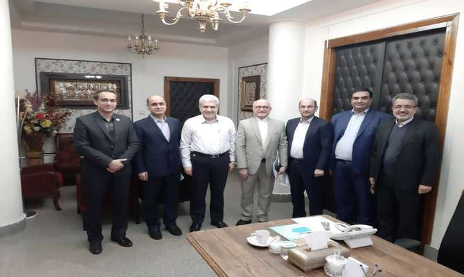 جلسه استاندار و رئیس پارک علم و فناوری گلستان با معاون علمی و فناوری رئیس جمهور و مدیران ارشد این معاونت