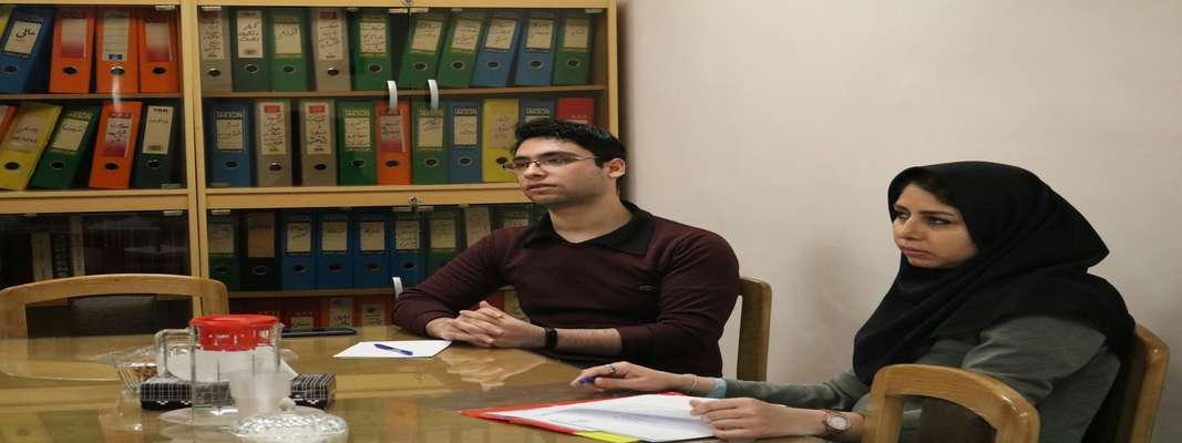 جلسه کمیته نظارت دانشکده بر فعالیت انجمن های علمی دانشجویی برگزار گردید