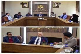 نشست مشترک اعضای کمیته های صندوق پژوهش و فناوری استان یزد و دبیر انجمن اقتصاددانان ایران